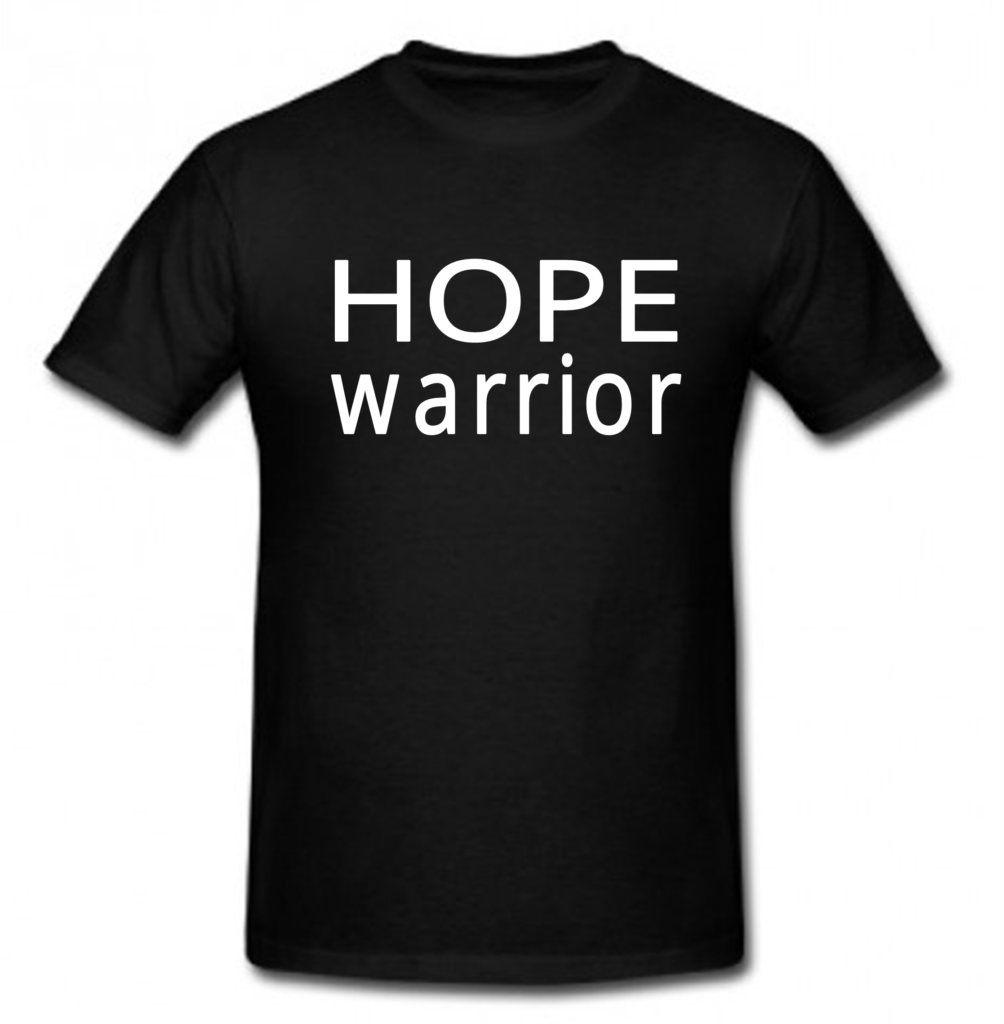 HOPE Warrior t-shirt