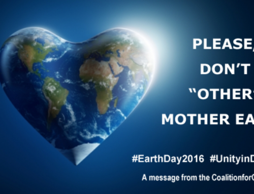 "Please Don't ""Other"" Mother Earth"